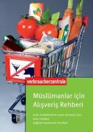 Ratgeber Einkaufsführer für Muslime - vzbv