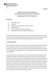 Initiative Klarheit und Wahrheit des BMELV Juli 2011 - vzbv