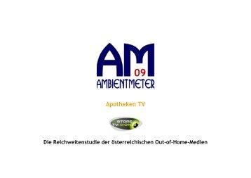 Ambientmeter-Gesundheits TV - InstoreTVision