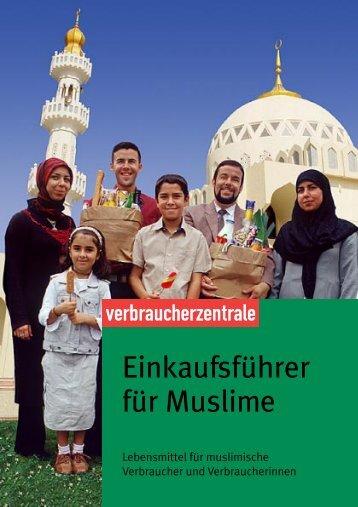 Einkaufsführers für Muslime - vzbv