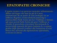 EPATOPATIE CRONICHE