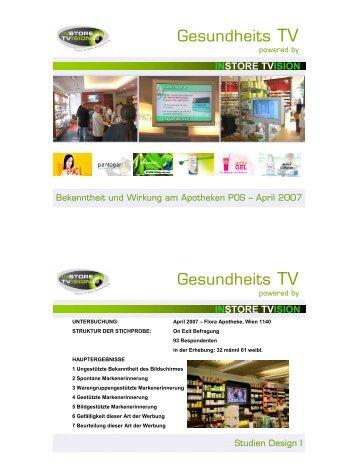 Gesundheits TV Gesundheits TV - InstoreTVision