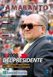 Amaranto magazine gennaio 2008