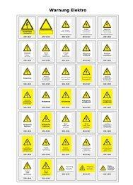 Warnung Elektro - Intersign