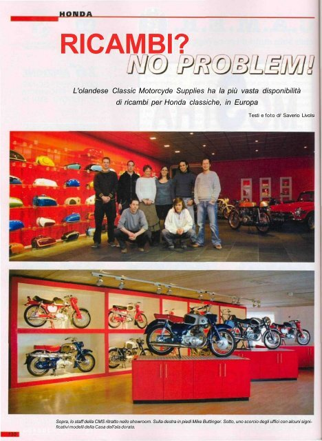 Ricambi Classic Motorcycle Supplies