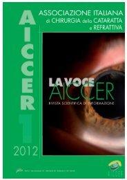 La Voce AICCER n. 1 anno 2012