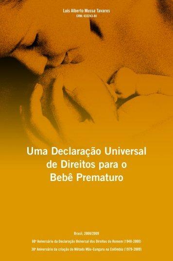 Uma Declaração Universal de Direitos para o ... - Aleitamento.com
