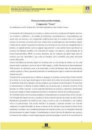 Psiconeuroinmunoendocrinologia. Componente