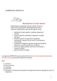 COOPERATIVA ARTEFACTA, Mantovani.pdf - Istituto italiano di ...