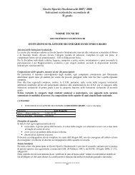 Secondo Grado - Centro servizi amministrativi di Lecco