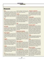 Glossario Grafica 3D - Università della Terza Età S. Donato S. Giuliano