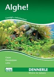 Alghe (PDF, ca. 1 MB) - Dennerle