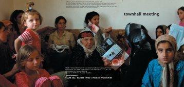 townhall meeting - Wadi eV