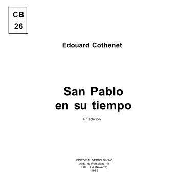 San Pablo en su tiempo - Biblioteca Católica Digital