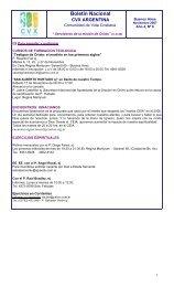 Boletín CVX Argentina Nov 2007