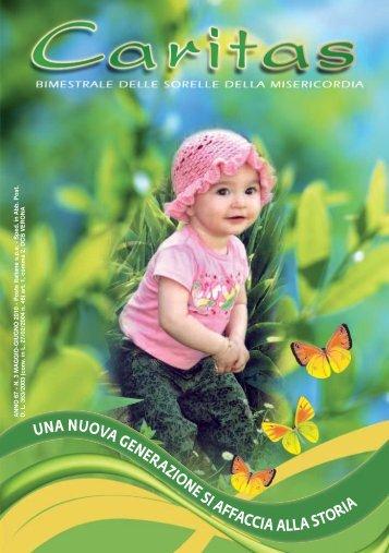 Caritas n. 3 maggio - giugno 2010 - Istituto Sorelle della Misericordia