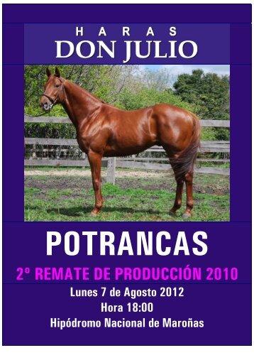 2º REMATE DE PRODUCCIÓN 2010