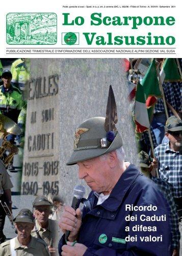 Lo Scarpone Valsusino - Sezione Valsusa