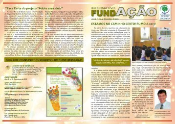 4ª Edição do Informativo Fundação - seicho-no-ie do brasil