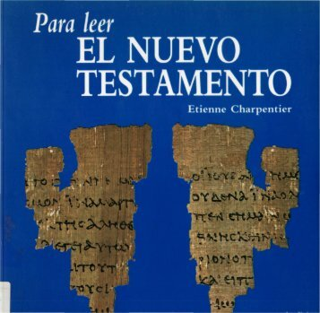 Para leer el Nuevo Testamento - Etienne Charpentier - OpenDrive