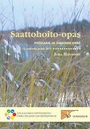 Saattohoito-opas 2012