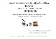 Have to - Istituto di Istruzione Superiore Ettore Majorana - Torino