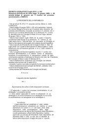 DECRETO LEGISLATIVO 2 luglio 2010 , n. 104 ... - Edk Editore Srl
