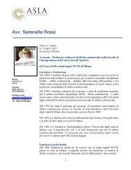 Rossi Serenella CV - Women On Board