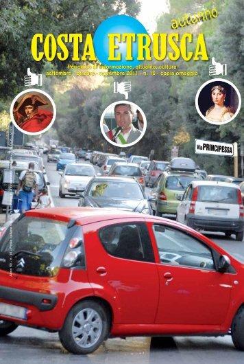 Settembre - Ottobre - Novembre 2011 - Costa Etrusca
