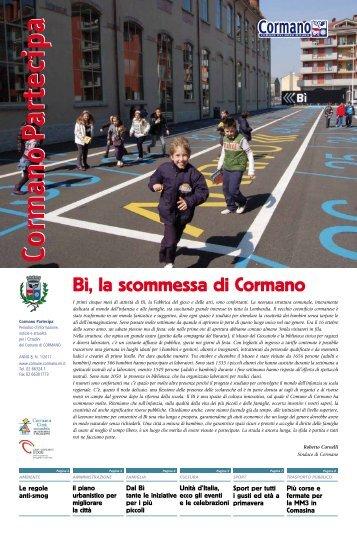 """Scarica """"Cormano Partecipa"""" in formato pdf - Comune di Cormano"""