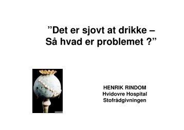 (Microsoft PowerPoint - Oslo hvad kan misbrug v ... - Velferdsetaten