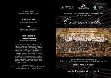 Varese: Pala Whirlpool Sabato 4 Dicembre 2010 - ore 11
