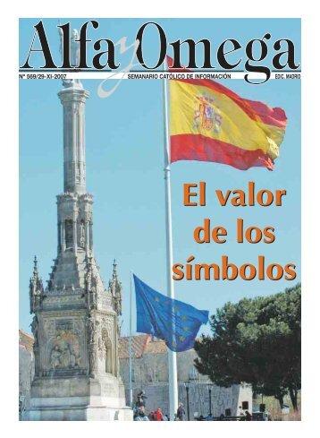 nº 569/29-xi-2007 semanario católico de información ... - Alfa y Omega