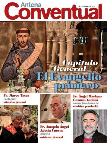 antena conventual - Franciscanos Conventuales de España
