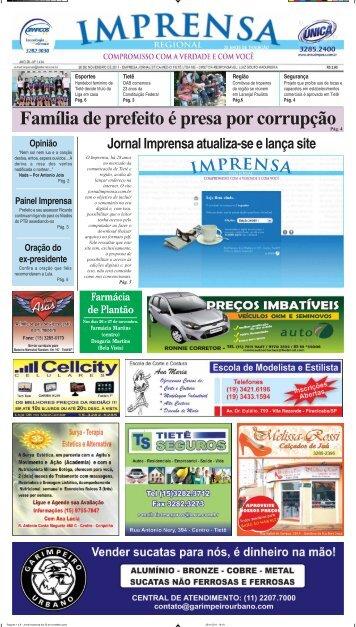 Tietê - Jornal Imprensa