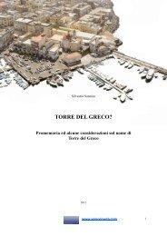 Silvestro Sannino - Torre del Greco - La vexata ... - Vesuvioweb