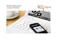 Mobile Basispräsentation - IQ media marketing