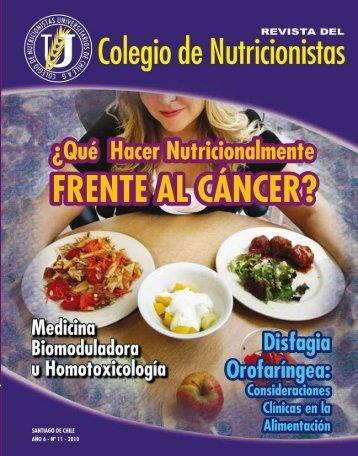 Revista Año 6 N° 11 - Colegio de Nutricionistas Universitarios de ...