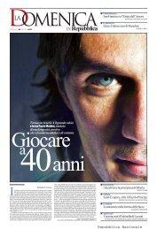 la copertina - La Repubblica