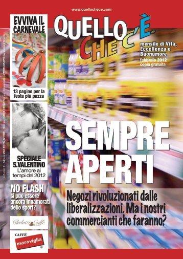 Quello che c'è - febbraio 2012 versione PDF - quellochece.com