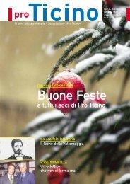 Buone Feste - Pro Ticino