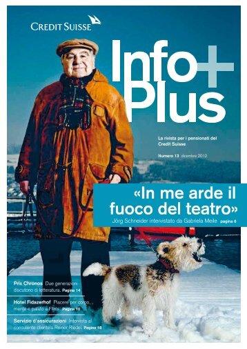Ultima edizione di InfoPlus - Pensionskasse
