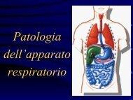 Patologia dell'apparato respiratorio - Dipartimento di Farmacia