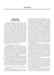 AREE PROTETTE INTRODUZIONI di Patrizia Fantilli e ... - La Tribuna