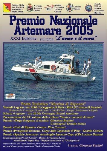 Apri il depliant in formato pdf - Artemare.it