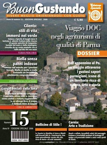 Viaggio DOC negli agriturismi di qualità di Parma - Gerardo Antelmo