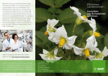 Effizientere Landwirtschaft – Kartoffeln vor Schadpilzen schützen