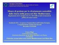 Il regolamento Mediterraneo per la pesca - Ice