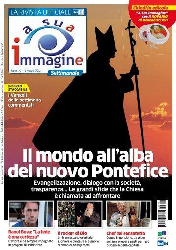 Il mondo all'alba del nuovo Pontefice - A Sua Immagine