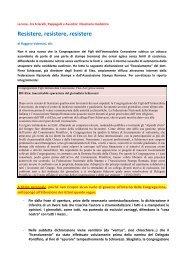 A proposito di Piero Schiavazzi - Congregazione dei Figli dell ...